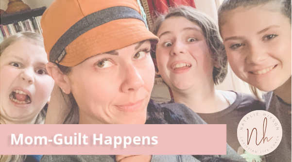Quick read on how to overcome mom-guilt and actually enjoy your motherhood journey!