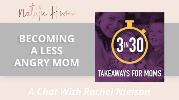 Natalie and Mike Hixson chat with Terry and Wendy Snyder on their podcast, Fresh Start Family. They discuss anger that isn't serving you (as a mother) and is getting in the way of relationships in your home! Click link to listen today! www.nataliehixson.com/fresh-start-podcast