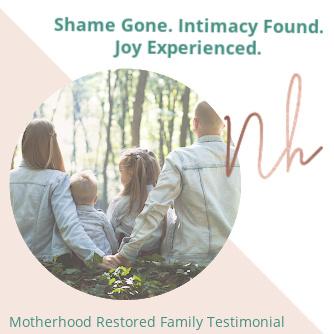 Shame Gone. Intimacy Found. Joy Experienced!